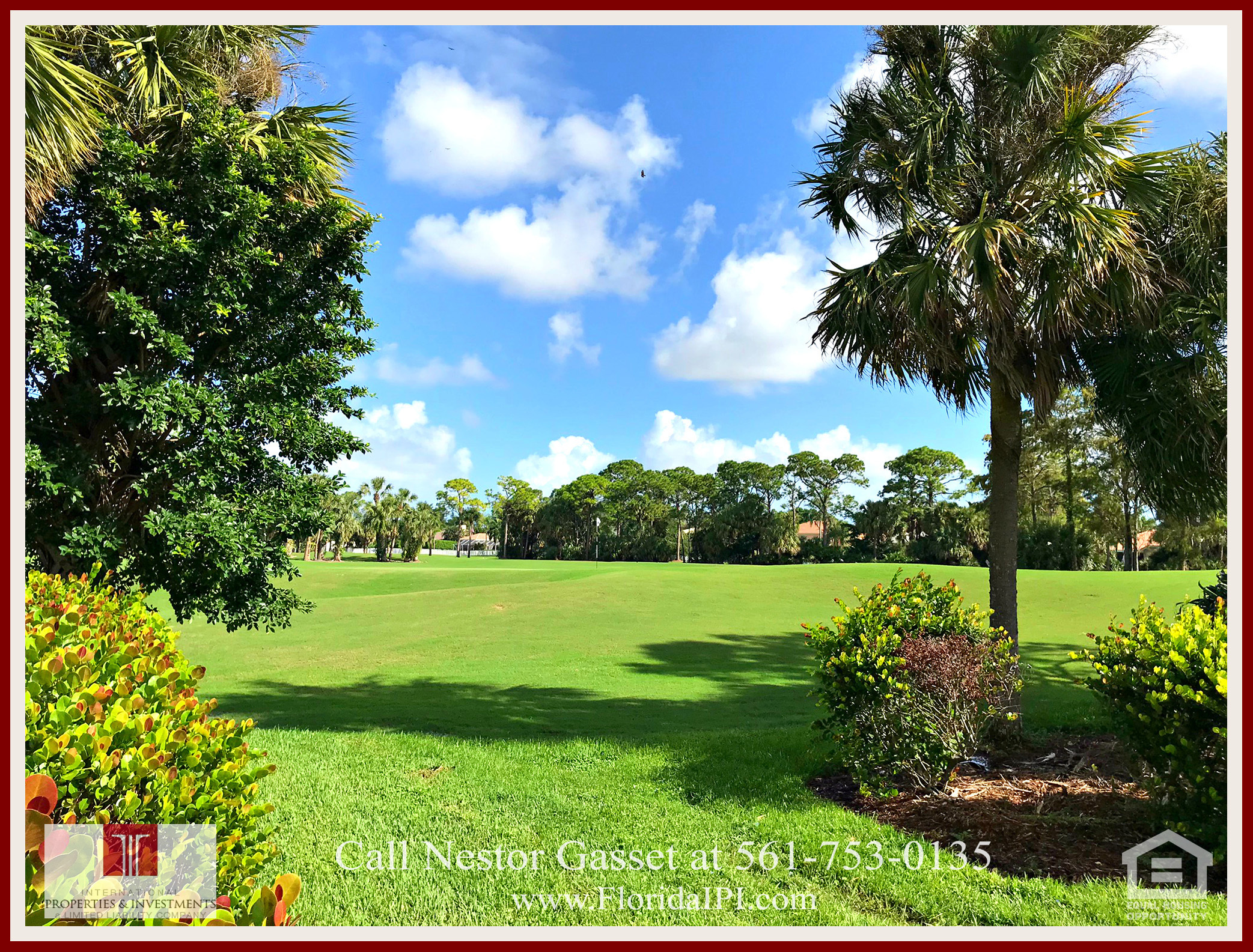 West Palm Beach Fl golf course community estate home for sale  - You can join the exclusive golf and country club membership to access the lavish community amenities of this home for sale in The Preserve at Ironhorse.