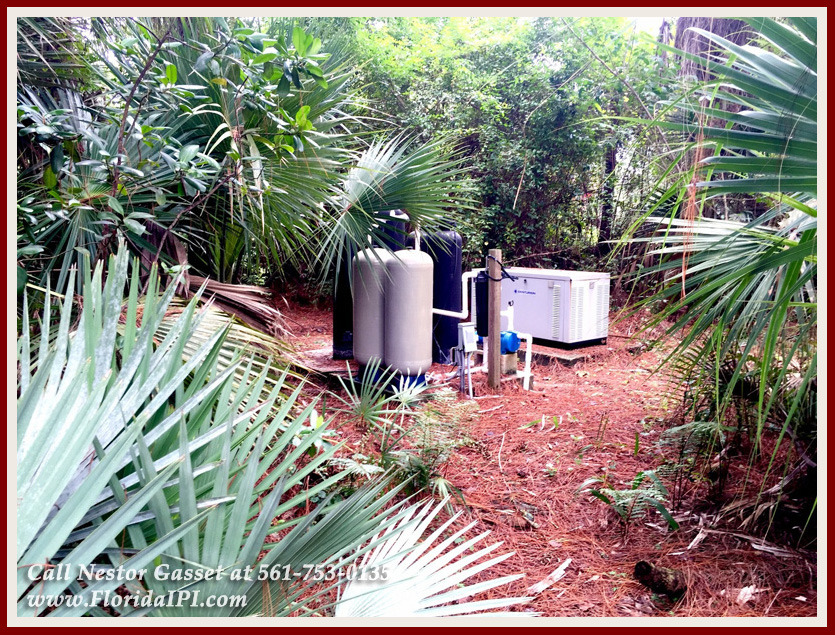 Equestrian Homes For Sale in Fox Trail Loxahatchee FL - 1092 Clydesdale Dr Loxahatchee FL 33470 - Generator With 1000 Gallon Propane Tank