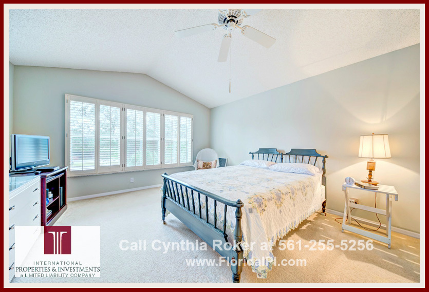 Home For Sale Charter Club at Martin Downs Palm City FL - Get ready for perfect mornings in the master bedroom of this home for sale!