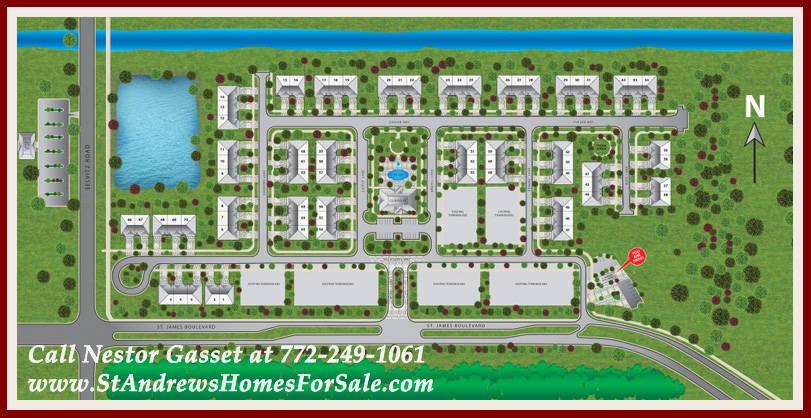 St. Andrews Park Villas Site Plan