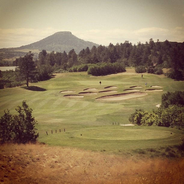 The Signature hole at Bear Dance