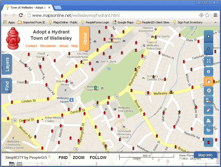 Adopt a Fire Hydrant in Wellesley MA! on
