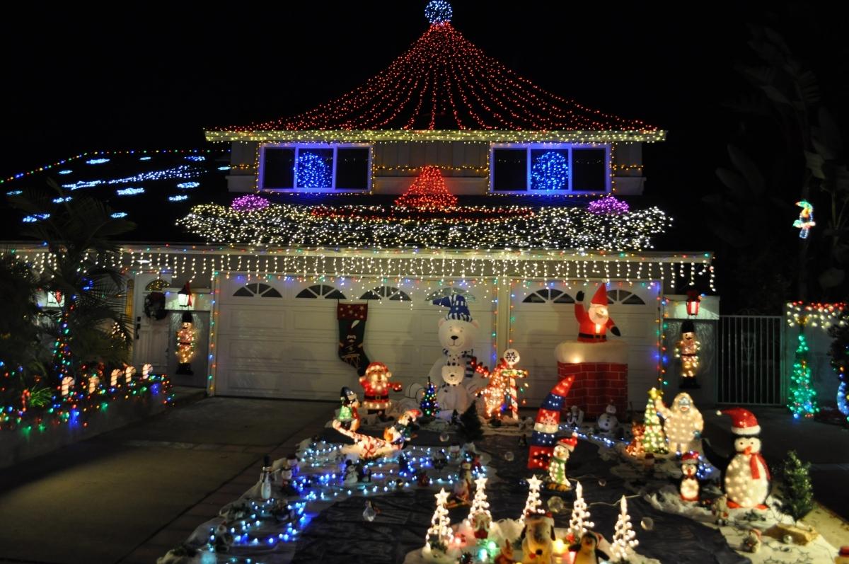 christmas home lighting. Mission Viejo Holiday Christmas Lights Home Lighting