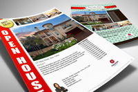 Turn key real estate flyer templates